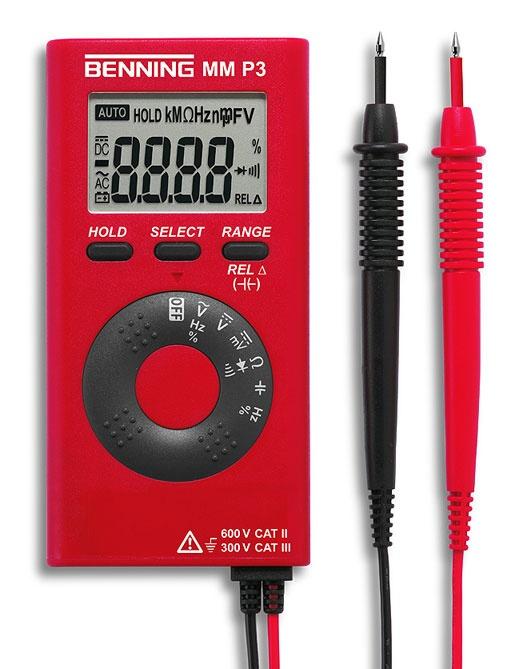 Benning MM P3 zakmultimeter